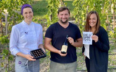 DIE G'SPRITZTN – Weißweinpralinen aus Döbling